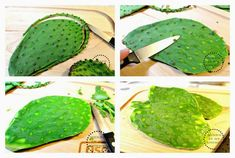 how to cook cactus paddles Nopales |How to clean nopales