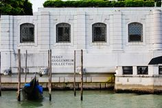 "The Peggy Guggenheim Collection in Venice, Italy - ""The modern art museum on the Grand Canal is one of my favorite museums in the world. It is impeccably curated, and you can't beat the location. There was an abstract Gio Ponti drawing in an exhibit I saw years ago that really captured my attention and inspired my Graffito pattern."""