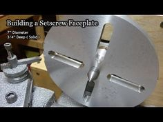 Making a Lathe Faceplate
