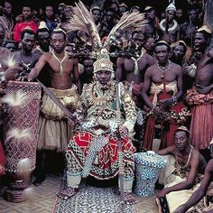 Africa | Nyimi Kok Mmabiintosh III - King of Kuba - D. R. Congo | © Daniel Laine.   Between the years of 1988 and 1991, French photographer Daniel Laine spent about 12 months on the African continent tracking down and photographing figures of royalty, and leaders of kingdoms.  During this time he managed to photograph 70 monarchs and descendants of the great African dynasties with his work on this series.