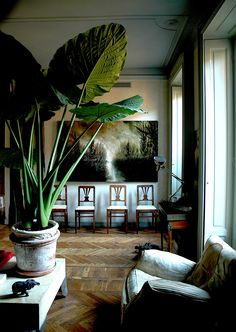Renovation project and furnishing private house in Milan - living room