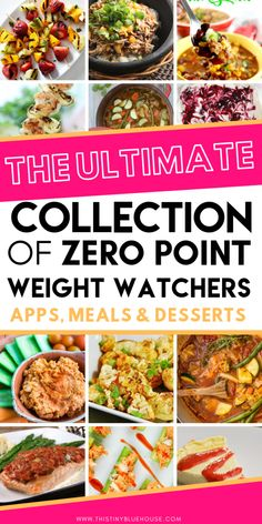 Here is the ultimate collection of Zero Point Weight Watchers Meals and Snacks. From apps to main meals and even desserts these zero point weight watchers meal ideas are guaranteed to keep your diet interesting. Dessert Weight Watchers, Weight Watchers Meal Plans, Weight Watchers Diet, Weight Watcher Dinners, Weight Loss Meals, Weight Watchers Vegetarian, Weith Watchers, Diet Recipes, Healthy Recipes