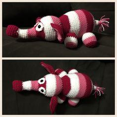 Crochet elephant #crochet #elephant #madebyme