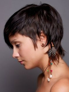 Short Hairstyles For Thick Hair                                                                                                                                                                                 More