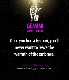 Click on this picture to learn even more about #Gemini :)