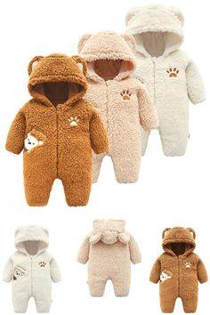 Snlaevx Baby Romper Infant Boys Girls Cartoon Carrot Print Jumpsuit+Rrabbit Ears Hat Set,Soft and Comfortable Clothes White, Age:0-3 Months