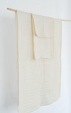 atelier Une place sur la Terre | Triple Gauze Organic Cotton Towel
