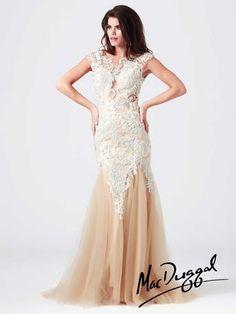 ccdf7dc0ae Mac Duggal Prom - 61567M Mermaid Prom Dresses Lace