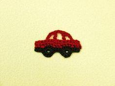 車のモチーフ(編み図付き) : Crochet a little