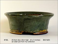 Fionna's Bonsai Pots, Kiwi Made, In New Zealand: Mediums (Larger) Bonsai, Kiwi, Stoneware, Larger, Pots, Artists, Medium, Container Plants, Bonsai Trees