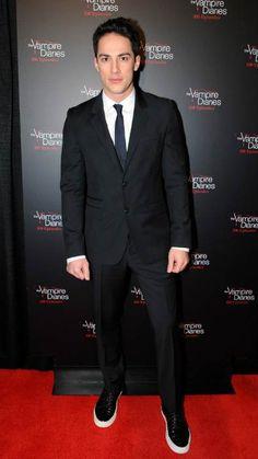 Michael Trevino at The Vampire Diaries' 100th Episode Celebration in November 2013...