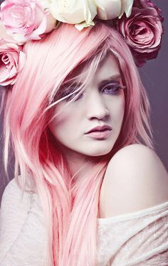 Artistic Pink Hair