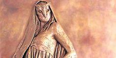 Huitaca, la diosa muisca en el Palacio Liévano. Huitaca tambien llamada Xubchasgagua, diosa mitológica de la lujuria. De origen lunar, con rara belleza y extraordinaria malignidad, se oponía a las enseñanzas del dios Bochica y por medio de su hermosura hacía que todos los hombres desobedecieran las enseñazas de este a través de los placeres carnales, juegos y borracheras, que ofendieron al dios Chibchacum.
