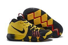 """Nike Kyrie 4 Mamba Mentality """"Bruce Lee"""" Tour Yellow Black For Sale  Wholesale 28b965d118c"""
