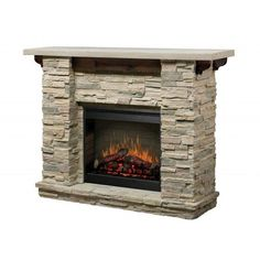 Polyfiber electric fireplace with 41 inch mantle beige electric polyfiber electric fireplace with 41 inch mantle beige electric fireplaces mantle and stone electric fireplace teraionfo