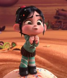 Vanellope by on DeviantArt Disney Pixar, Disney Icons, Disney Cartoons, Disney Magic, Disney Art, Foto Cartoon, Cartoon Pics, Girl Cartoon, Cute Disney Wallpaper