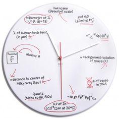 Reloj científico - Tienda de regalos originales QueLoVendan.com