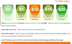 Phone card rates services for local international long distance