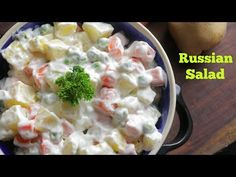 RUSSIAN SALAD | Best Healthy Tasty Salad | Best for all parties | By Chef Adnan - YouTube