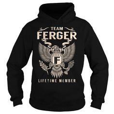 Team FERGER Lifetime Member - Last Name, Surname T-Shirt