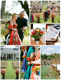 This beautiful venue boasts with modern sophistication in the heart of Wine Country! Gorgeous Indian wedding!  Wedding Venue: Solage Alive with Color and Culture