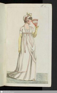 Januar 1801  Journal des Luxus under der Moden