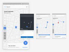 Google: Indoor map and floor direction