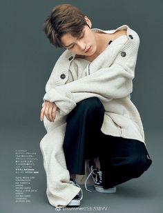 Jaejoong for Harper's BAZAAR Japan ❤️ JYJ Hearts