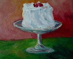 """Daily Paintworks - """"Happy Birthday!"""" by Maggie Flatley"""