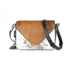 Prisma Lizard Effect Leather Shoulder Bag, Alexander Wang $825