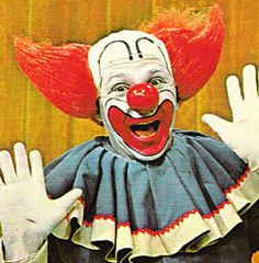 Bozo the Clown TV show......I was actually on stage for this show ONCE with my Brownie troop