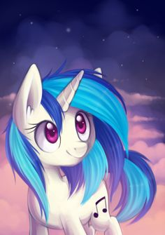 Vinyl by Vampirenok.deviantart.com on @deviantART #vinyl_scratch #mlp #my_little_pony