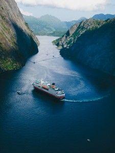 Hurtigruten in Norway...