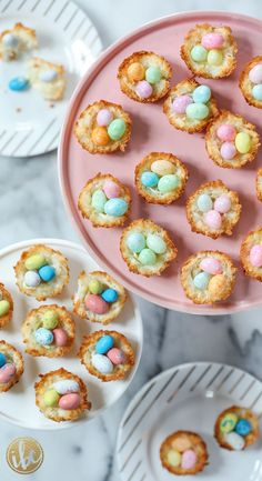 Coconut Macaroon Nests - classic spring Easter dessert recipe idea - baking for Easter