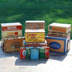 Cigar Boxes and Accessories
