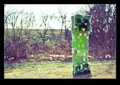 loved this minecraft pinata, i got permission from photographer to post here (http://www.flickr.com/photos/erikavictor/5604364626/)