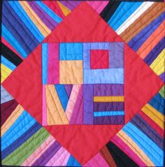 Unruly quilter Love block  mmmmm inspiration!
