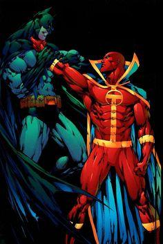 red tornado vs the bat