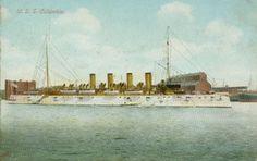 USS Columbia (C-12)