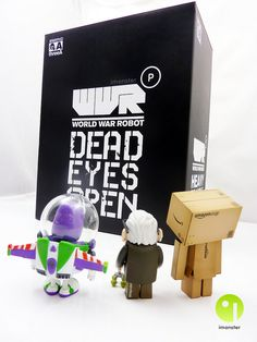 A new friend ... or not ? #danbo  http://www.imonster.be