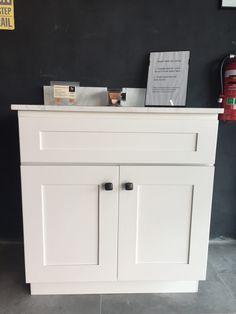 Vanity 760mm (SOLID WOOD) – JERRY KITCHEN & BATH LTD Kitchen And Bath, Solid Wood, Vanity, Cabinet, Bathroom, Storage, House, Furniture, Home Decor