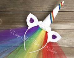 Unicornio diadema cuerno de unicornio unicornio cumpleaños