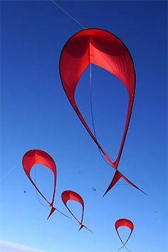 WOKIPI- world kite picture - Festival cerfs-volants Dieppe 2012 Chinese Kites, Dragon Kite, Kites Craft, Le Vent Se Leve, Stunt Kite, Kite Designs, The Kite Runner, Kite Making, Go Fly A Kite