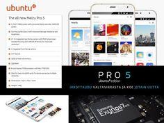 Ubuntu Phone jotain erilaista: Meizu Pro 5. #potkukelkkacom http://ift.tt/192Jw2V