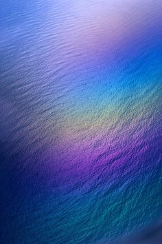 Rainbow Colors over Water, Hawaii  | (By: Erik Aeder) - is this not perfect...?... green, blue and purple!... absolutely breathtaking...