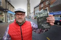 I'm up Ayr, High Street trying to flog my book to passers by.