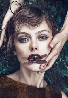 Frida Gustavsson by Boe Marion