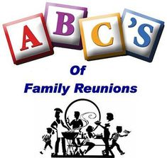 If it's your intention to reach a website which provides you with All Things Family Reunion, CONGRATULATIONS!!!...You've succeeded!!!!