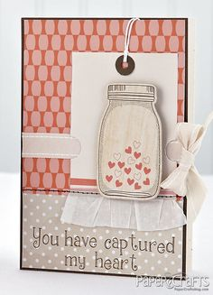 Captured My Heart Card by Julie Campbell
