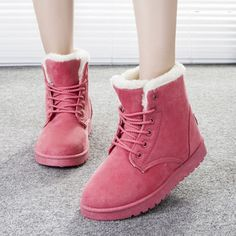 DreamShining 2016 New Arrival Women Winter Boots Botas Femininas Warm Snow Boots Fashion Platform Ankle Boots 7 Color  #model #fashion #jewelry #styles #outfit #makeup #purse #jennifiers #style #cute #stylish #outfitoftheday #beautiful #beauty #hair